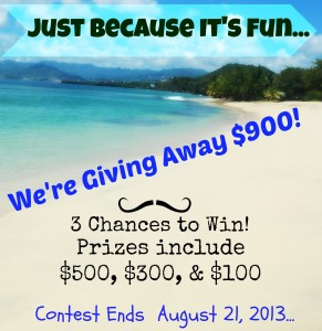 August Blog Giveaway