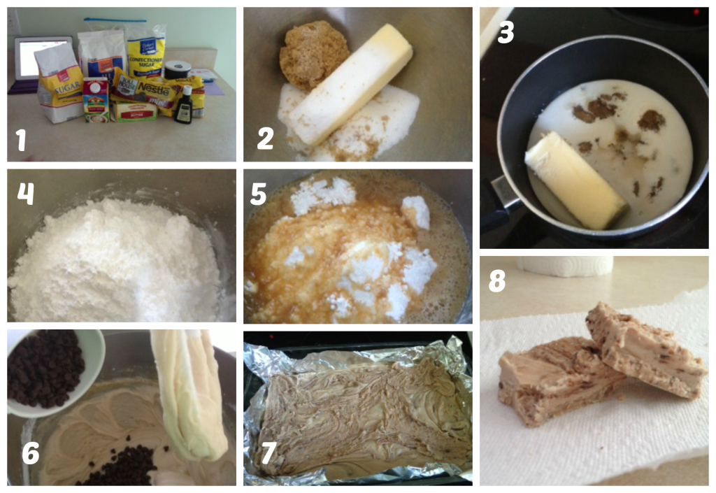 Fudge collage
