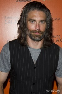 Anson Mount, from Hell on Wheels. Only he and Charlie Hunnam make facial hair look good.