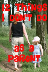 12 parenting things