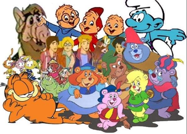 1980 S Cartoon Characters : Memories of a genx childhood jana says