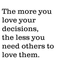 decisions quote