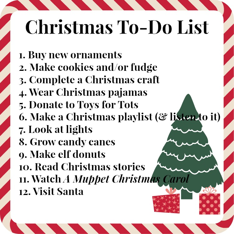 Have A Christmas.Our Family Christmas To Do List Jana Says