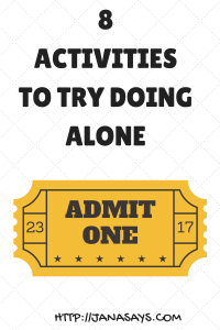 8 ACTIVITIESTO TRY ALONE (AT LEAST ONCE) (2)