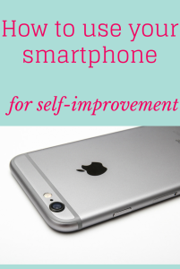 smartphone self-improvement