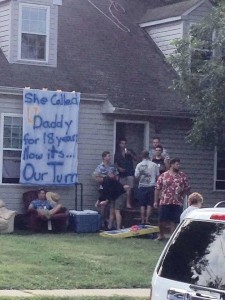 offensive UD sign
